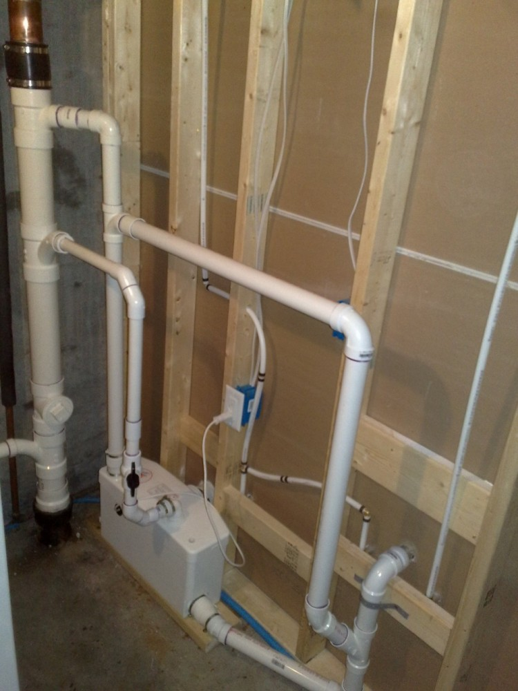 pin basement bathroom plumbing pump basement bathrooms in ohio ideas